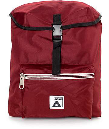 Poler Field Burgundy 14L Backpack
