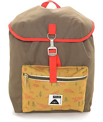 Poler Field Burnt Olive 14L Backpack
