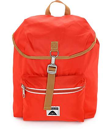 Poler Field Red Backpack