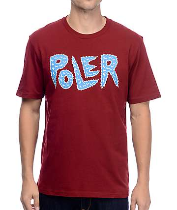 Poler Pole-Cat Merlot T-Shirt