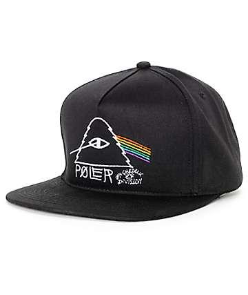 Poler Psychedelic Black Snapback Hat