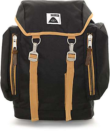 Poler Rucksack 2.0 Black 25L Backpack