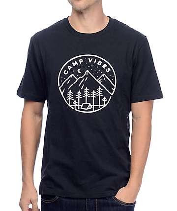 Poler Slumber Black T-Shirt