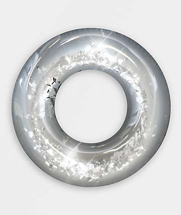 Pool Candy Silver Confetti Glitter Pool Tube