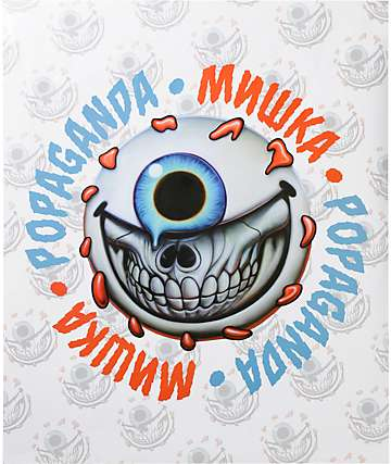 Popaganda x Mishka Keep Watch Grin Poster