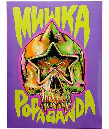 Popaganda x Mishka Star Skull Poster