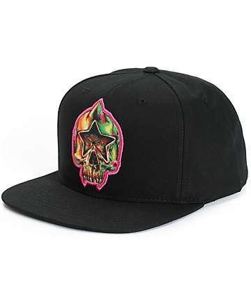Popaganda x Mishka Star Skull Snapback Hat