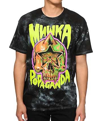 Popaganda x Mishka Star Skull Tie Dye T-Shirt