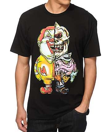 Popaganda x Mishka Super Size Skull T-Shirt