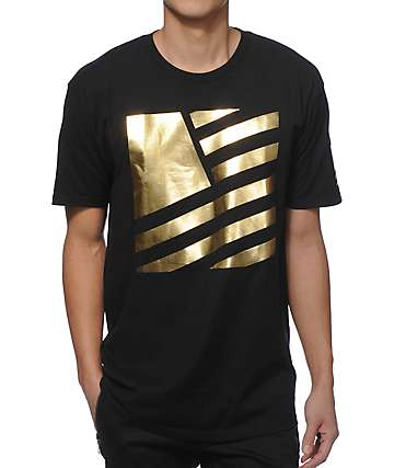 Popular Demand Gold Square T-Shirt