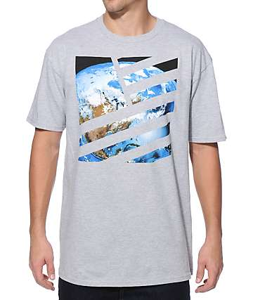 Popular Demand Planet Earth Square T-Shirt