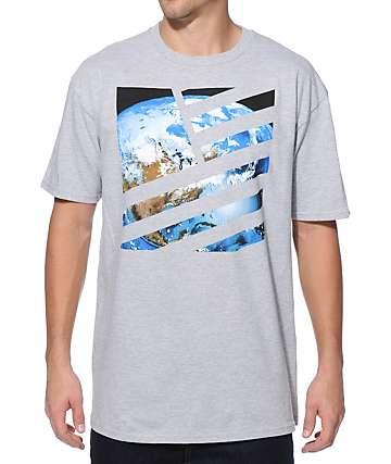 Popular Demand Planet Earth Square T-Shirt