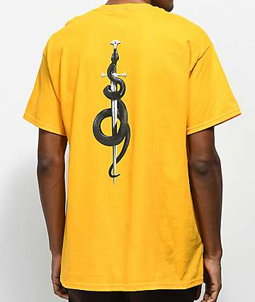 Post Malone Rockstar camiseta amarilla