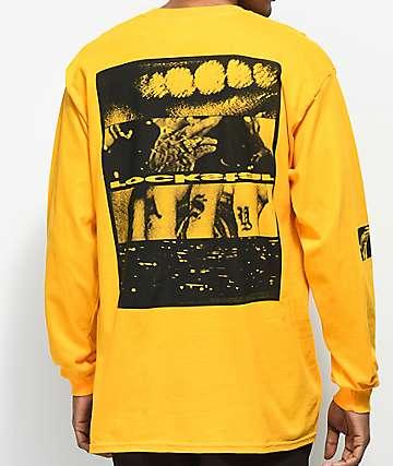 Post Malone Rockstar camiseta amarilla de manga larga