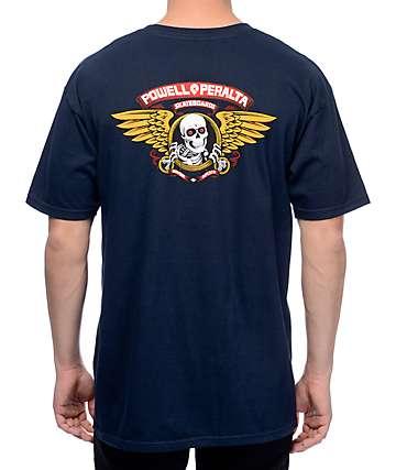 Powell & Peralta Winged Ripper Navy T-Shirt