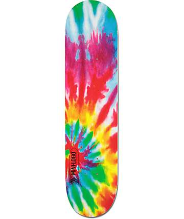 "Powell Mini Logo Tie Dye 7.5"" Skateboard Deck"