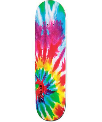 "Powell Mini Logo Tie Dye 8.0""  Skateboard Deck"