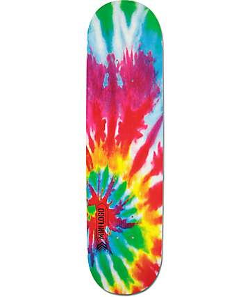 "Powell Mini Logo Tie Dye 8.25""  Skateboard Deck"
