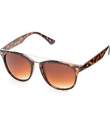 Praire Gloss Tortoise T-Bar Classic Sunglasses