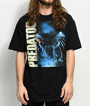 Predator Vintage Face Black T-Shirt