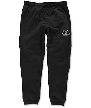 Primitive 3-Panel Black Sweatpants
