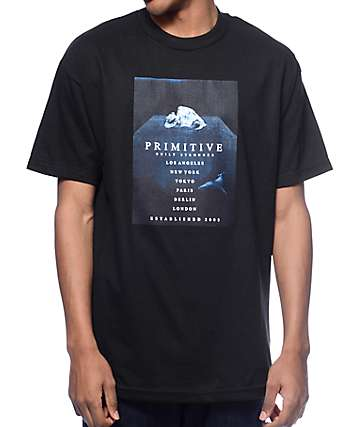 Primitive Abyss Black T-Shirt