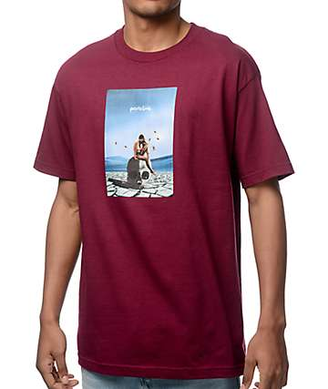 Primitive Badlands Burgundy T-Shirt