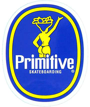 Primitive Banana Sticker