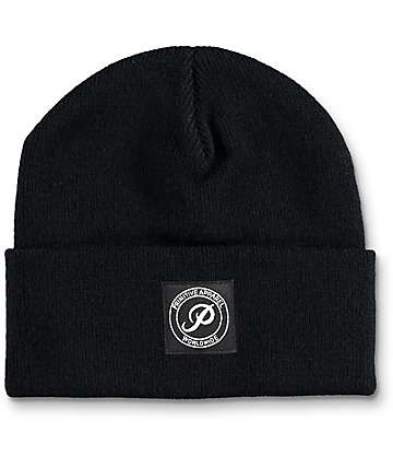 Primitive Basic Black Beanie