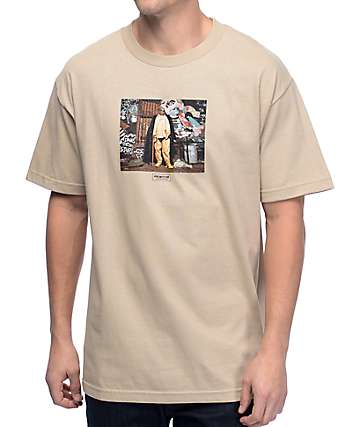 Primitive Biggie Alley Tan T-Shirt