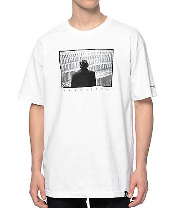 Primitive Biggie Tombstone White T-Shirt