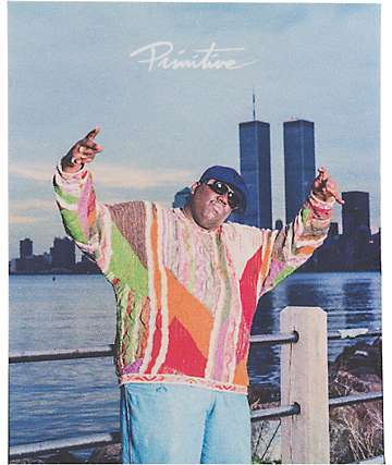Primitive Biggie Twin Towers Sticker