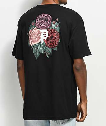 Primitive Bloom Black T-Shirt