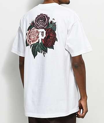 Primitive Bloom camiseta blanca