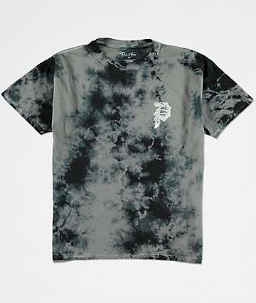Primitive Boys Dirty P Waves Black Tie Dye T-Shirt