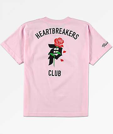 Primitive Boys Heartbreak Pink T-Shirt