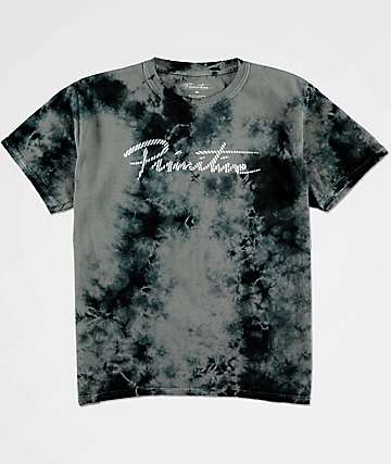Primitive Boys Nuevo Waves Black Tie Dye T-Shirt