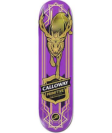 "Primitive Calloway Elk 8.0"" Skateboard Deck"