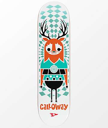 "Primitive Calloway Pendleton Zoo 8.5"" Skateboard Deck"