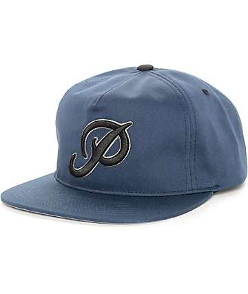 Primitive Classic P Club Navy Strapback Hat