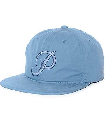 Primitive Classic P Soft Visor Blue Strapback Hat