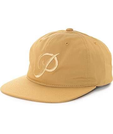 Primitive Classic P Tonal Mustard Strapback Hat