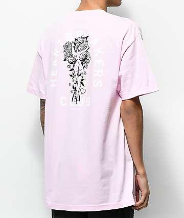 Primitive Club camiseta rosa