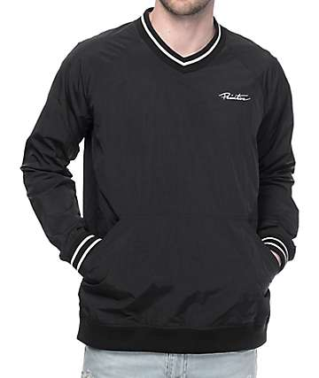 Primitive Creped chaqueta deportiva en negro