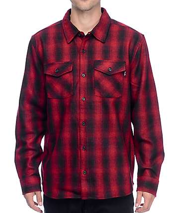 Primitive Detroit Red Flannel Shirt