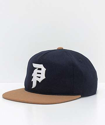 Primitive Dirty P Navy Strapback Hat