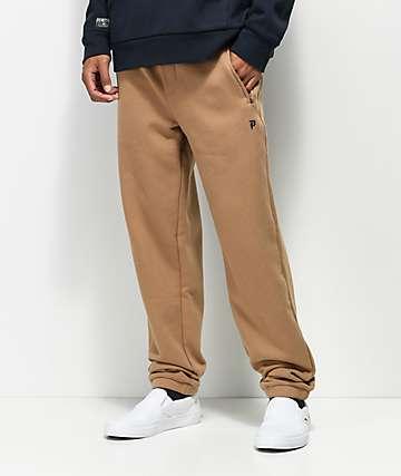Primitive Dirty P pantalones deportivos de polar en color camello