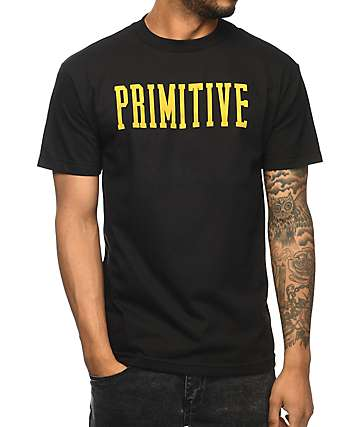 Primitive Dropout Black T-Shirt