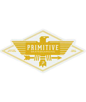 Primitive Eagle Sticker