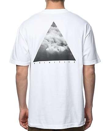 Primitive Elevate camiseta blanca